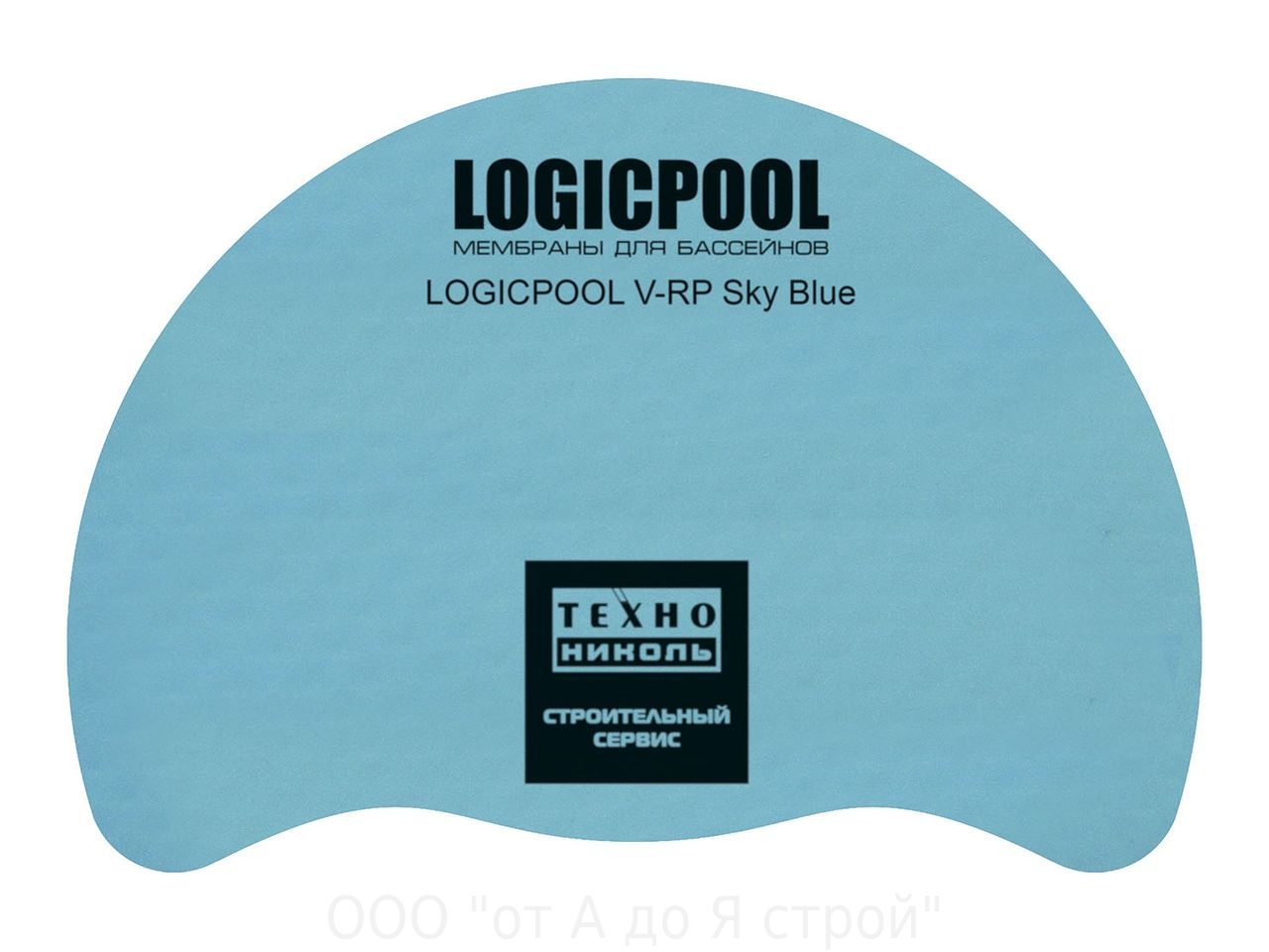 "Пленка ""Logicpool"" Sky Blue (голубой)"
